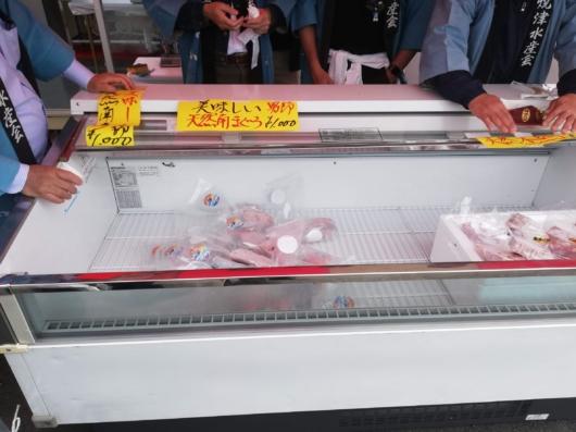 冷凍鮪の販売